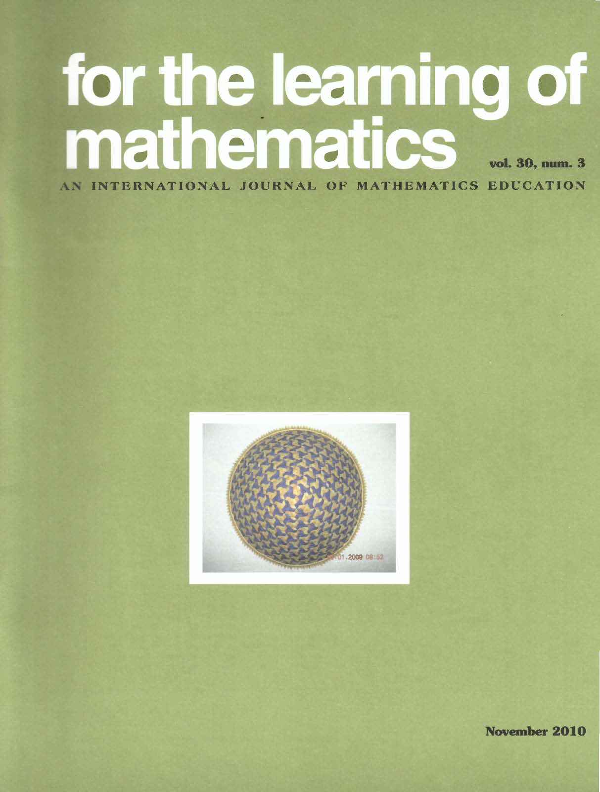 master thesis mathematics education