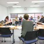 Katrina teaching class
