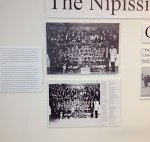 Nipissing Warriors display