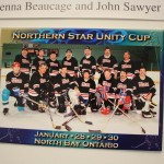 Warrior Hockey team at the Northern Star Unit Cup