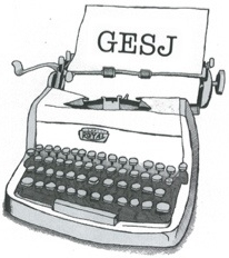 GESJ typewriter small